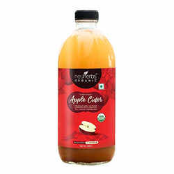 Neuherbs Certified Organic Apple Cider Vinegar with Mother for Weight Loss Management : 500 ML