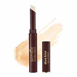 Biotique Natural Makeup Diva Kiss Gel Lip Balm, Crystal Sorbet, 2g