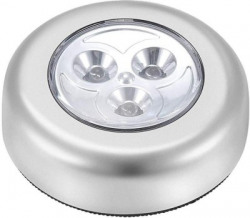 SYGA Round Shaped LED Battery-Powered Wireless Night Light Stick Tap Torch Lamp Recessed Ceiling Lamp