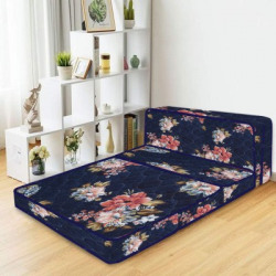 Sleep Spa Soft BounceThree Fold Mattress 4 inch Single PU Foam Mattress((L x W: 72 inch x 35 inch))