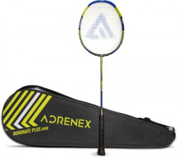 Adrenex by Flipkart Dominate Plus 3000 Multicolor Strung Badminton Racquet(Pack of: 1, 84 g)