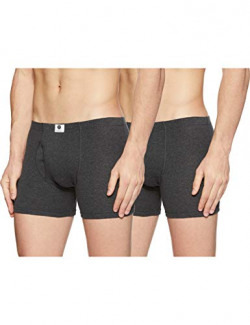 Amazon Brand - Symbol Men's Solid Cotton Brief (Combo pack of 2) (SYMBRFPO2-011_Black 1_Xx-Large)