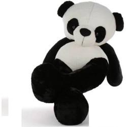 TEDDYIA 3 Feet Panda Very Beautiful High Quality Huggable Cute Panda Teddy Bear Valentine & Birthday Gifts Lovable Special Gift  - 90.01 cm(White, Black)