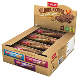 Unibic Snack bar Multigrain Choco 360g Pack of 12, 360g