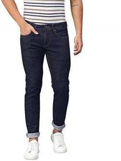 AMERICAN CREW Men's Slim Fit Dark Blue Jeans -32 (ACJN905-32)