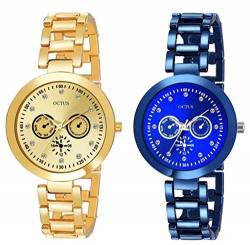 Zavio Analog Multi-Colour Dial Women's Watch-Z_OT-T-Combo