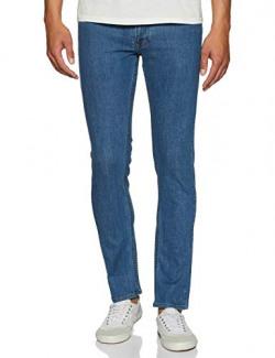 Diverse Men's Chino Jeans (DCMDT03KC19L31-559D_Indigo1_32)