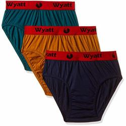 Wyatt Men's Plain Brief (Wyatt-MensBrief24-ML-S_Multi_S)