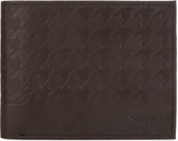 PARK AVENUE Men Brown Artificial Leather Wallet(8 Card Slots)