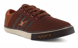 Sparx Men's Brown Tan Sneakers (SC0408G_BRTN0009)
