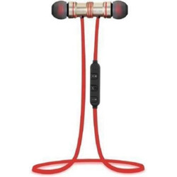 P3A Magnet Red Bluetooth Bluetooth Headset(Red, In the Ear)