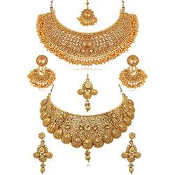 Apara Combo Bridal Wedding Necklace Jewellery Set Earrings for Women