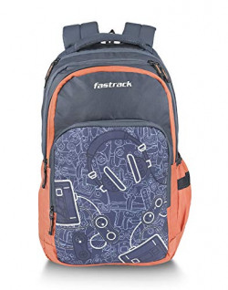 Fastrack 35 Ltrs Blue Casual Backpack (A0786NBL01)