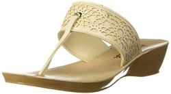 Aurelia Ecru Fashion Sandals - 4 UK (37 EU) (20AUA9FW00023-089)