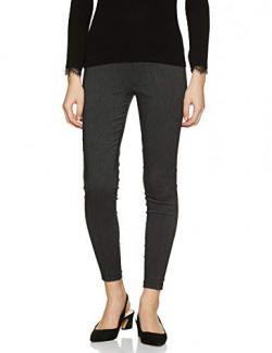 Amazon Brand - Symbol Women's Jeggings Stretchable Pants (SS18SYMWBT026_Grey_24)