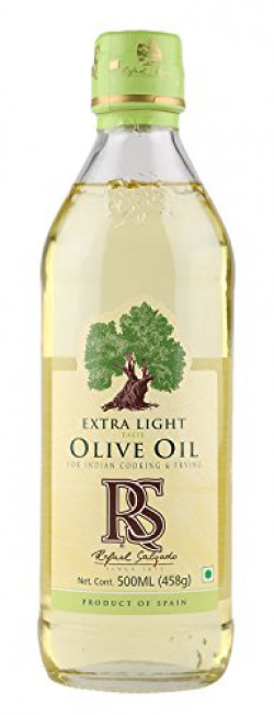 Rafael Salgado Extra Light Olive Oil for Cooking and Frying | Pet Bottle - 500ml