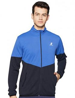 Amazon Brand - Symactive Men Sweatshirt Warm Up Jacket (SYK-05_Royal Blue_XX-Large)