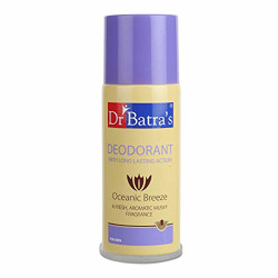Dr Batra's Deodarant With Long Lasting Action Oceanic Breeze - 100 gm