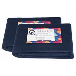 Quard Waterproof Baby Dry Sheet 70 x 50 cm (Small, Navy Blue) - Pack of 2