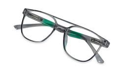 IME Zero Power Blue Light Blocking Glasses Women/Men, Retro Anti Eyestrain Computer Gaming Glasses - Classy Wayfarer Sunglasses FREE.