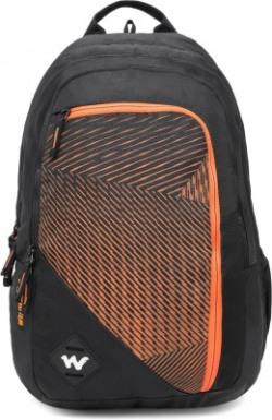 Wildcraft Colossal 40 L Backpack(Black, Orange)