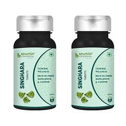 Bhumija Lifesciences Singhara (Water Chestnut) 500mg Tablets (60 Tab), Rich Fibre source for General Wellness (2)