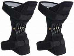 Wonder World  Rebound Powerleg Knee Booster Brace Support Knee Support(Black)