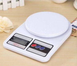 FIREFLY HUB Digital Kitchen Weighing Machine Multipurpose Electronic Weight Scale with Backlit LCD Display for Measuring Food, Cake, Vegetable, Fruit Weighing Scale(White, OR MAY BE DIFFERENT THAN IMAGE)