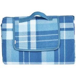 AmazonBasics Picnic Blanket with waterproof backing, 150 x 195 cm