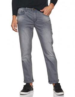 Diverse Men's Relaxed Fit Jeans (DCMDT03RC19L31-516B_Grey2_34)