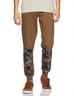 Amazon Brand - Inkast Denim Co. Men's Slim Fit Joggers (INK-SS20-KJG02PB_Olive1_32)