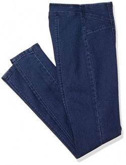 AKA CHIC Women's Skinny Jeans (AKCB1474_Dark Blue_30)