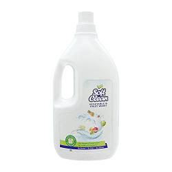 Soft Clean Vegetable & Fruit Wash   Super Saver Pack   2L (Made with 100% safe food grade ingredients)