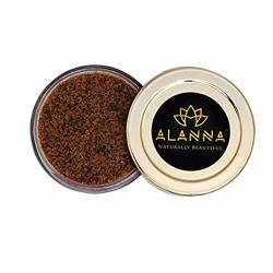 Alanna Naturally Beautiful Detox Cofee and Green Tea Face Scrub, Brown, 50 g