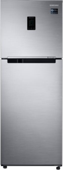 SAMSUNG 345 L Frost Free Double Door 3 Star Convertible Refrigerator(Elegant Inox, RT37T4513S8/HL)