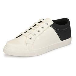 Centrino Men 3941 White Sneakers-9 UK (43 EU) (10 US) (3941-1)