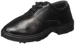 ACTION Boy's Black Formal Shoes - 8 Kids UK/India (26 EU)(MA-7-Black-S_26)