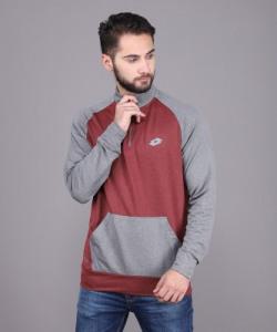 LOTTO Full Sleeve Color Block Men Sweatshirt