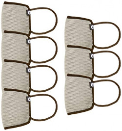 Fort Collins Unisex Cotton Face Mask (Pack of 7) (119_L.Grey_One Size)