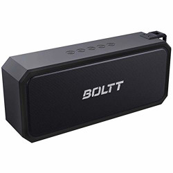 Fire-Boltt Xplode 1300 Portable Bluetooth 20W Speaker Monstrous Sound & Twin Subwoofers, Powerful 3000mAh Battery with 14H Playtime & IPX7 Waterproof. (Black)