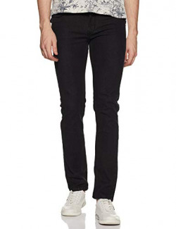 Diverse Men's Chino Relaxed Jeans (DCMDT01RC12L03-33F_Black2_32)