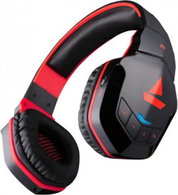 boAt Rockerz 510 Super Extra Bass Bluetooth Headset(Raging Red, On the Ear)