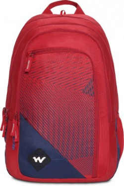 Wildcraft Colossal 40 L Backpack(Red, Blue)