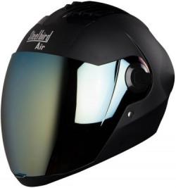 Steelbird Air SBA-2 Painted Motorbike Helmet(Mat Black)