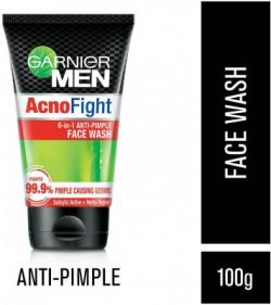 Garnier Men Men Acno Fight Anti-Pimple Face Wash(100 g)