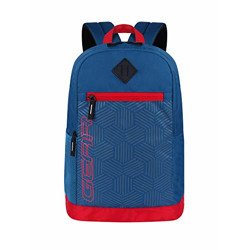Gear 05 24 Ltrs M.Blue-Red Casual Backpack (BKPGEAR055106)