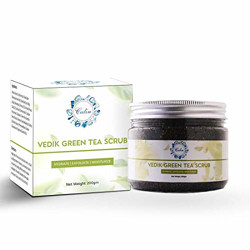 Calin Vedik Green Tea Body Scrub, 200 ml