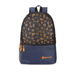 Impulse 30 Ltrs Orange Casual Backpack (Pathway 30 litres Orange)