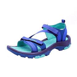Lotto Women's Terra Blue/Green Fashion Sandals-4 UK/India (38 EU) (S8S4838-474)
