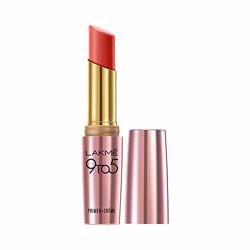 Lakmé 9To5 Primer + Creme Lip Color, Ruby Result CR1, 3.6 g